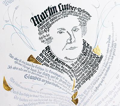 goldprägung 500 jahre reformation
